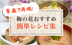 梅の花おすすめ簡単レシピ集